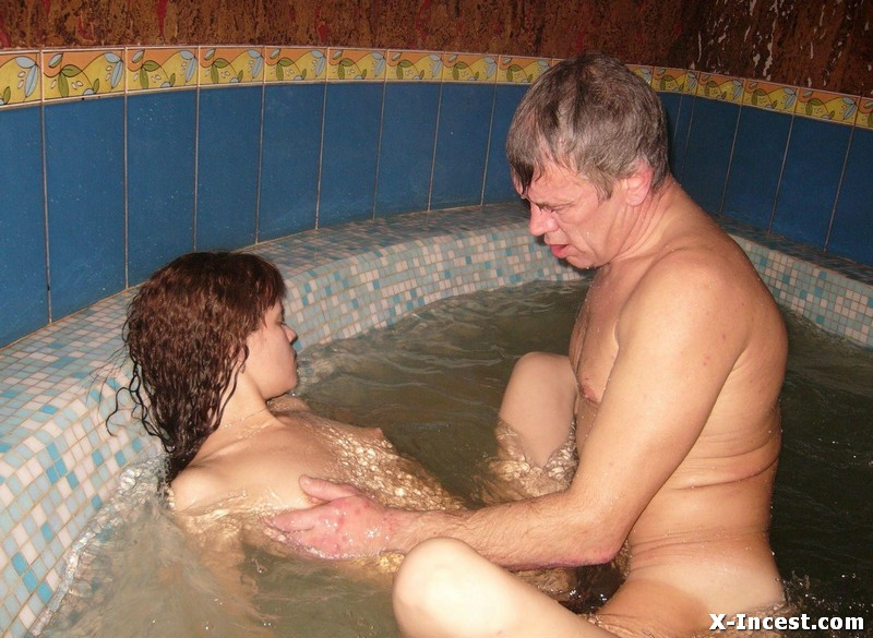 incest fantasy grandpa secretly fucks daughter