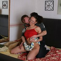 Brother sister incest forced homemade